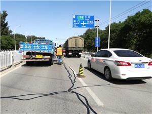 嘉格沥青路面贴缝带助力山东某高速公路养护