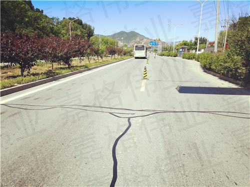 适合城市道路养护的嘉格沥青路面贴缝带