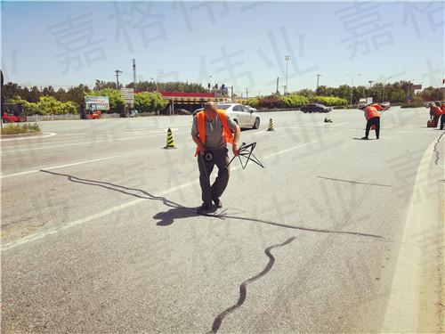 嘉格道路贴缝带粘贴技术被称为神奇的道路养护技术
