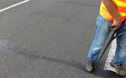 路面裂缝修补技术