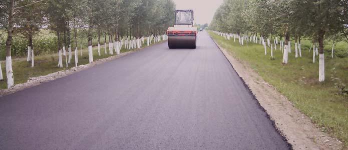 抗裂型橡胶沥青混凝土路面