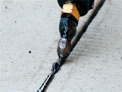 低成本修补水泥路面裂缝&伸缩缝专用嘉格热熔型灌缝胶